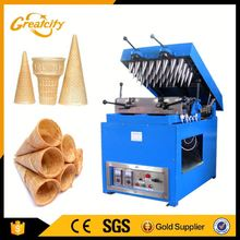 commercial ice cream cone maker rolled sugar cone baking machine