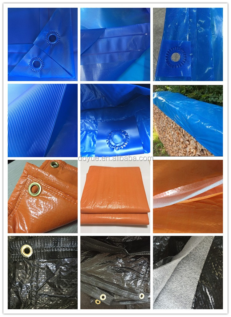 High strength poly tarp for truck