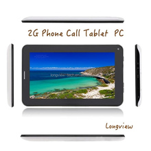 A23 dual core 7 inch Android smart phone tablet 2G SIM slot front/rear camera wifi 512MB/4G