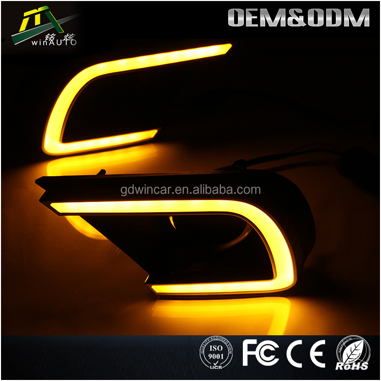 Auto accessories led driving lamp drl daytime running light for toyota innova