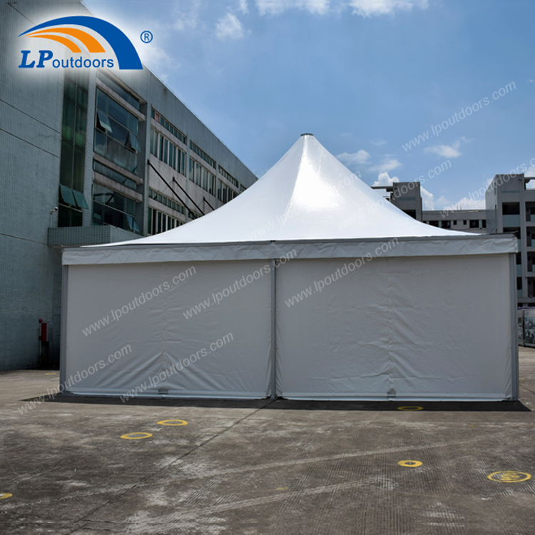 9x9m Large marquee pagoda tent usde for outdoor weddding and celebration events