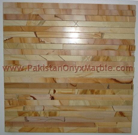 MARBLE TEAKWOOD ( BURMATEAK ) MOSAIC TILES FOR KITCHEN WALLS