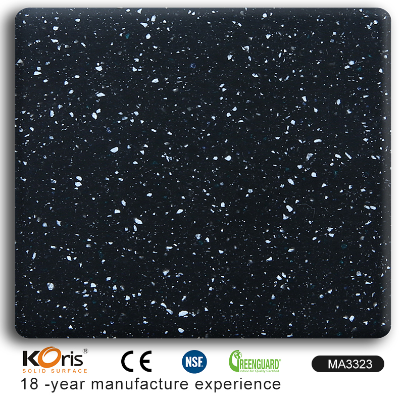 MA3323 100% pure lg hi-macs special unique artificial stone anti-bacterial acrylic solid surface