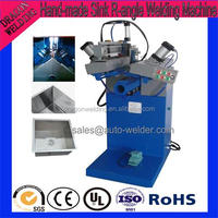 Automatic Hand Made Sink R Corner Welding Machine