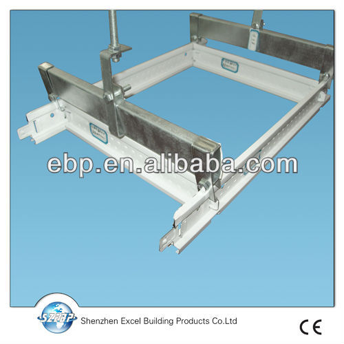 ceiling tee runners with gypsum ceiling board