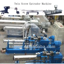 HKY65 Co-rotating Parallel Twin Screw Extruder Plastic Machine/Plastic Granulator for Sales