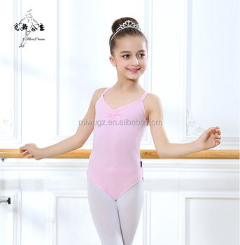 Kids' Wearing Artistic Gymnastic Tank Leotard For Training