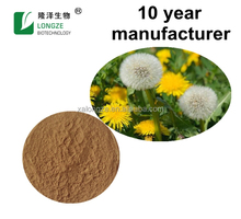 ISO Certified Factory Bulk-supply Dandelion Extract Flavones 4% 8% 10% Dandelion Root Extract Dandelion Seed Extract Powder