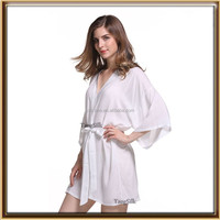 wholesale supply plain colors never fade cotton sleeping robes