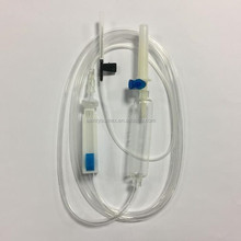 Disposable iv infusion set with single wing scalp vein set
