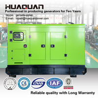 Portable silent diesel electric power generators for sale