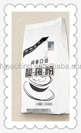 solid Plum juice tea beverages biodegradable stand packaging bag
