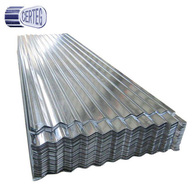 Gi Gl Roofing Sheet Building Materials Light Weight Metal Corrugated Galvanized Roofing Sheet
