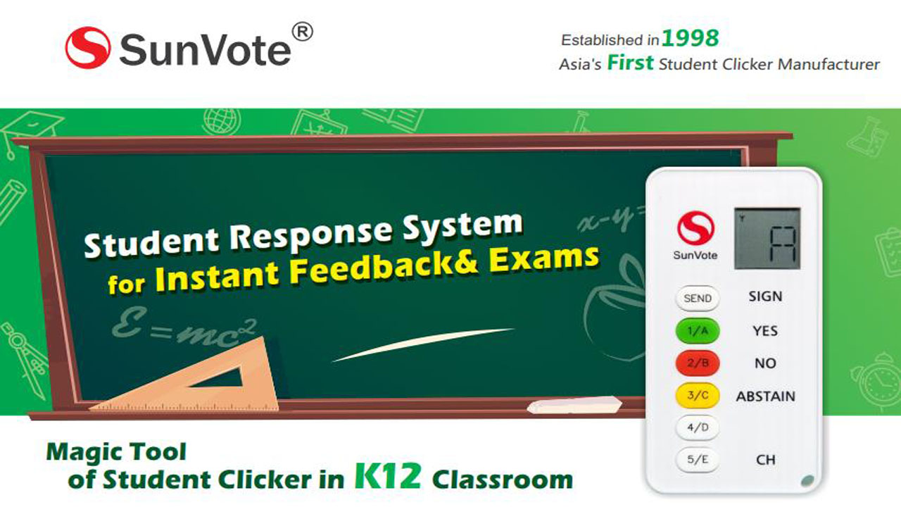 SunVote wireless interactive student voting systems for classroom response