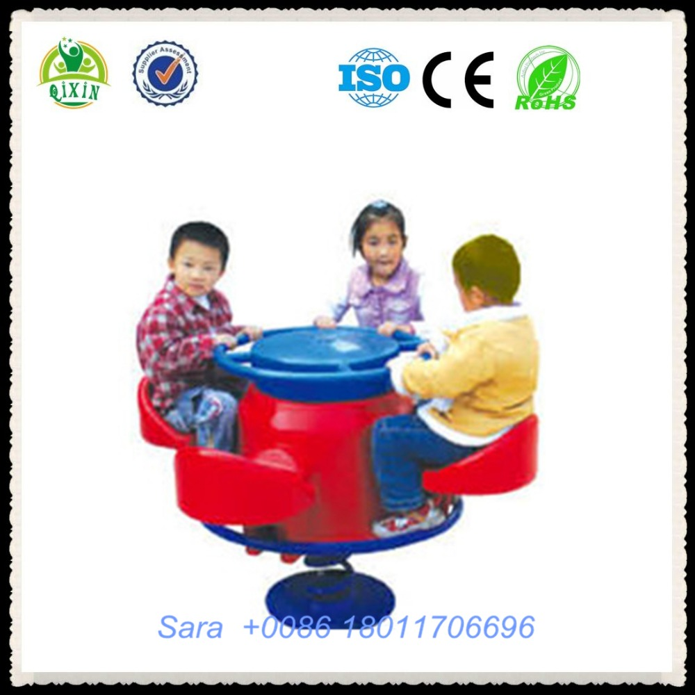 Preschool rocking ride design special needs outdoor play equipment kids play equipments manufacturers QX-18094B