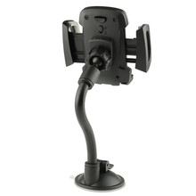 universal suction cup Mount windshield Dashboard flexible long neck mobile phone car holder gooseneck cell phone holder mount