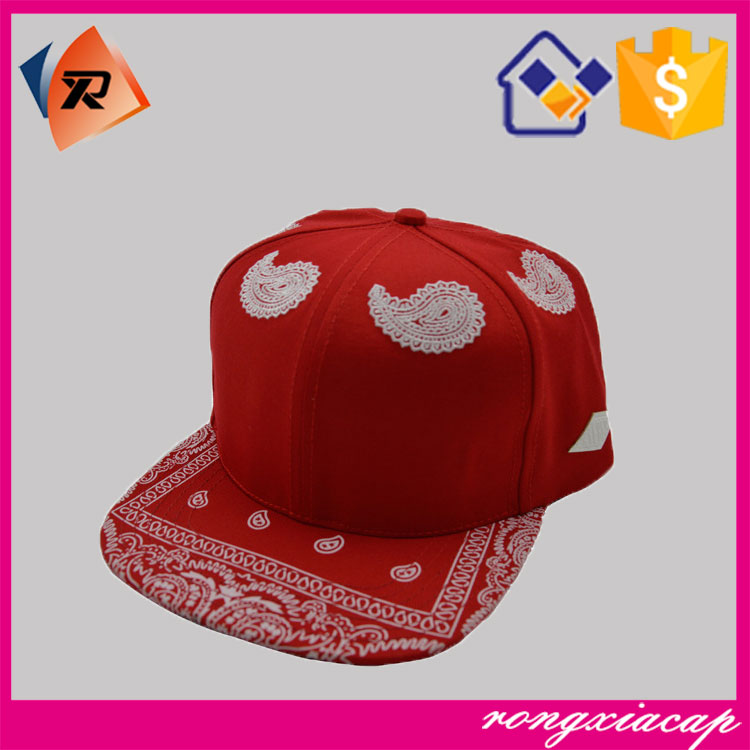 Factory supply 6 panel lovely angel embroidery snapback cap