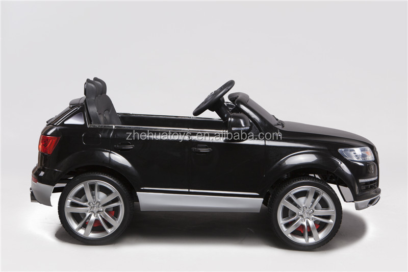 Newest Audi Q7 Licensed 12Volt Electric car Toy for Kids,R/C Ride on toy car