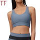 Hot Top Running Wear Set Ladies Gray Design Your Own Sports Bra
