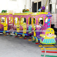 Kiddie electric rides mini train for sale