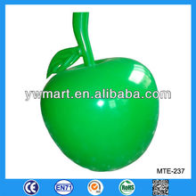 Promotion PVC inflatable apple, advertising inflatable apple model, inflatable apple toy
