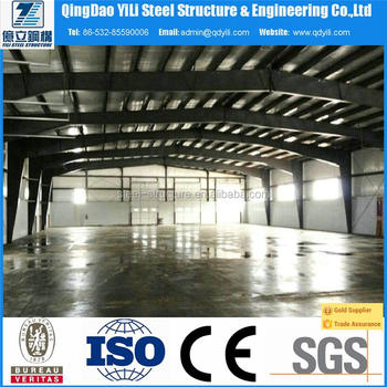 high quality steel frame building from Qingdao yili