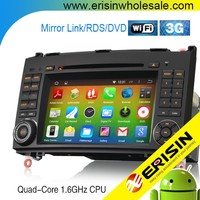 Erisin ES2682B Mercedes Sprinter 2 Din 7 inch Car DVD with Android 4.4.4 Can-Bus