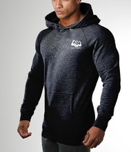 Outdoor sports gym blank cashmere hoodie men