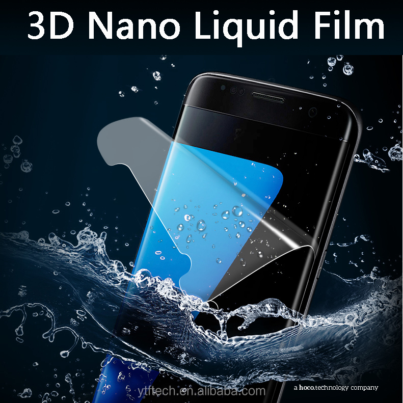 2017 Factory price 3D Nano liquid soft screen protector for LG X power 2