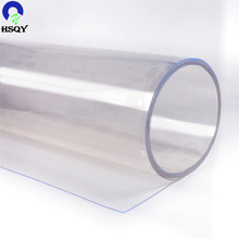 Color PVC Flexible Plastic Sheet Transparent Clear Film