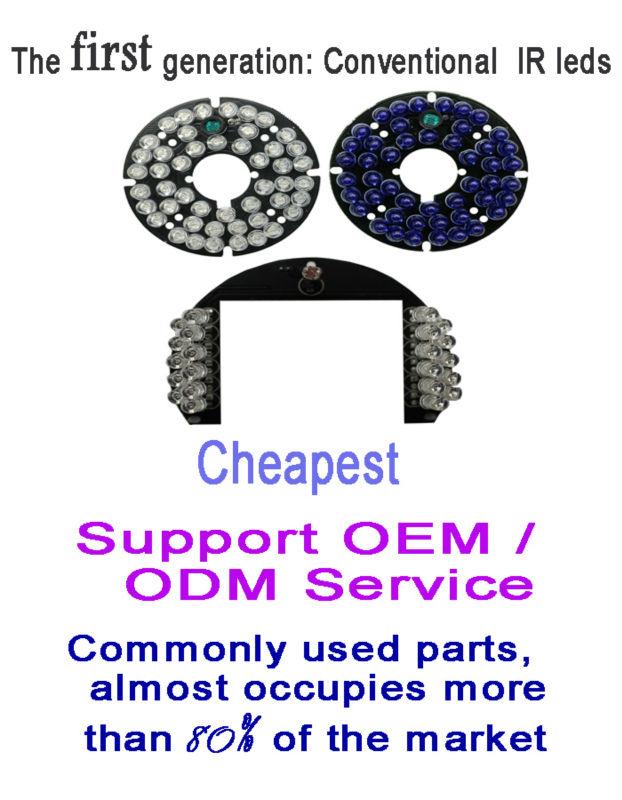 850nm Led Ir Laser Illuminator Factory For Dome Cctv Camera