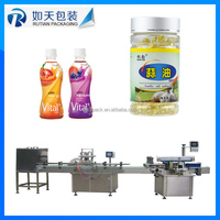 automatic honey filling line,tomato paste jam sauce butter filling machine