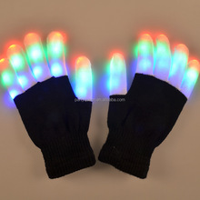 Flashing Finger Lighting Glow LED Glow Gloves PLG-3
