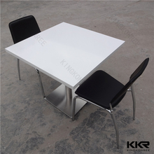Special design customized solid surface tables for catering used