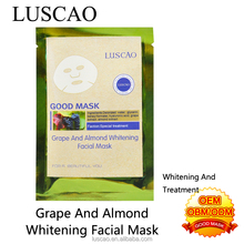 Grape almond shine skin conditioning facial mask cotton face mask taiwan online shopping