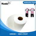 100g high sticky dye sublimation transfer paper roll