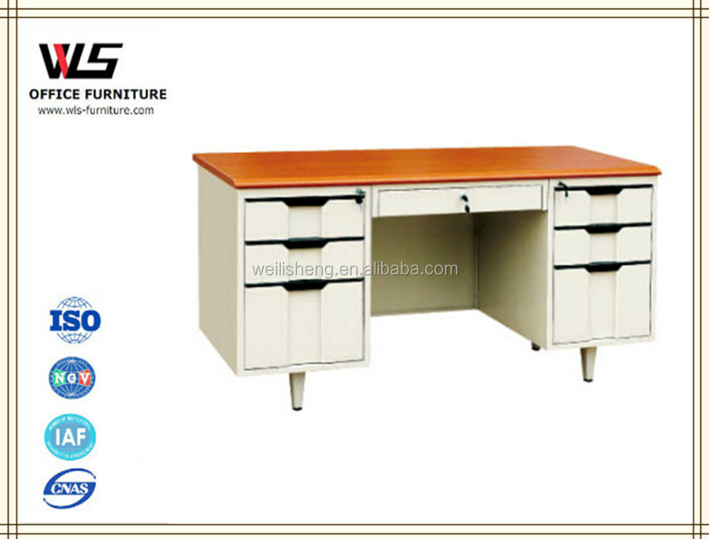 Factory direct sale low price steel modern computer desk ready made