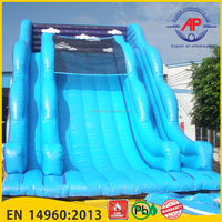 Airpark Inflatable Canton Fair 2016 High Quality Great Wave Inflatable Slide for Sale