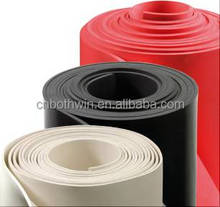 neoprene rubber sheet fabric ,3mm cheap anti-slip vulcanized rubber sheets