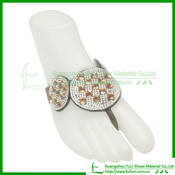 271 Popular Slipper For Party Of String Resin Accessory