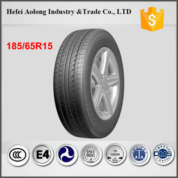 Germany tech new tyres MADE IN CHINA with cheap price, pcr tyre 185/65R15