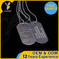 Stainless Steel Promotional Gifts Engraved Military