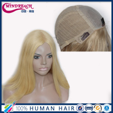 Wholesale 100% european human hair silk top jewish wig kosher wigs