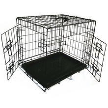 china cheap 5ft 6ft folding car animal crate dog kennel cage