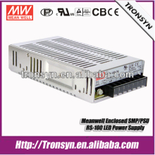 Meanwell LED Driver SP-100-48 (100W 48V) Single Output Enclosed SMPS LED Switching Power Supply Built-in PFC Function