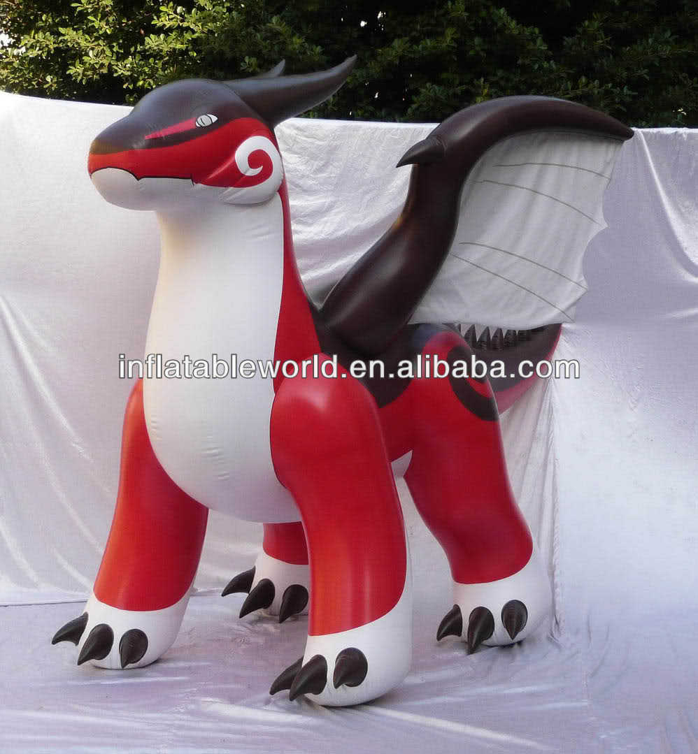 2014 New Hot inflatable dragon for sale