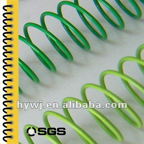 Printing Services book binding single steel metal spiral,single steel spiral for o book binding wire