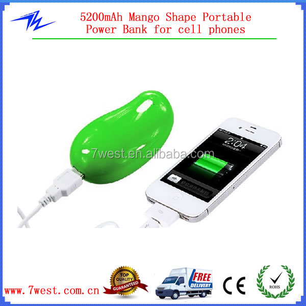 Universal 5200mah Mobile Power Bank ,Portable Charger Power Bank 5200mAh for all cell phones