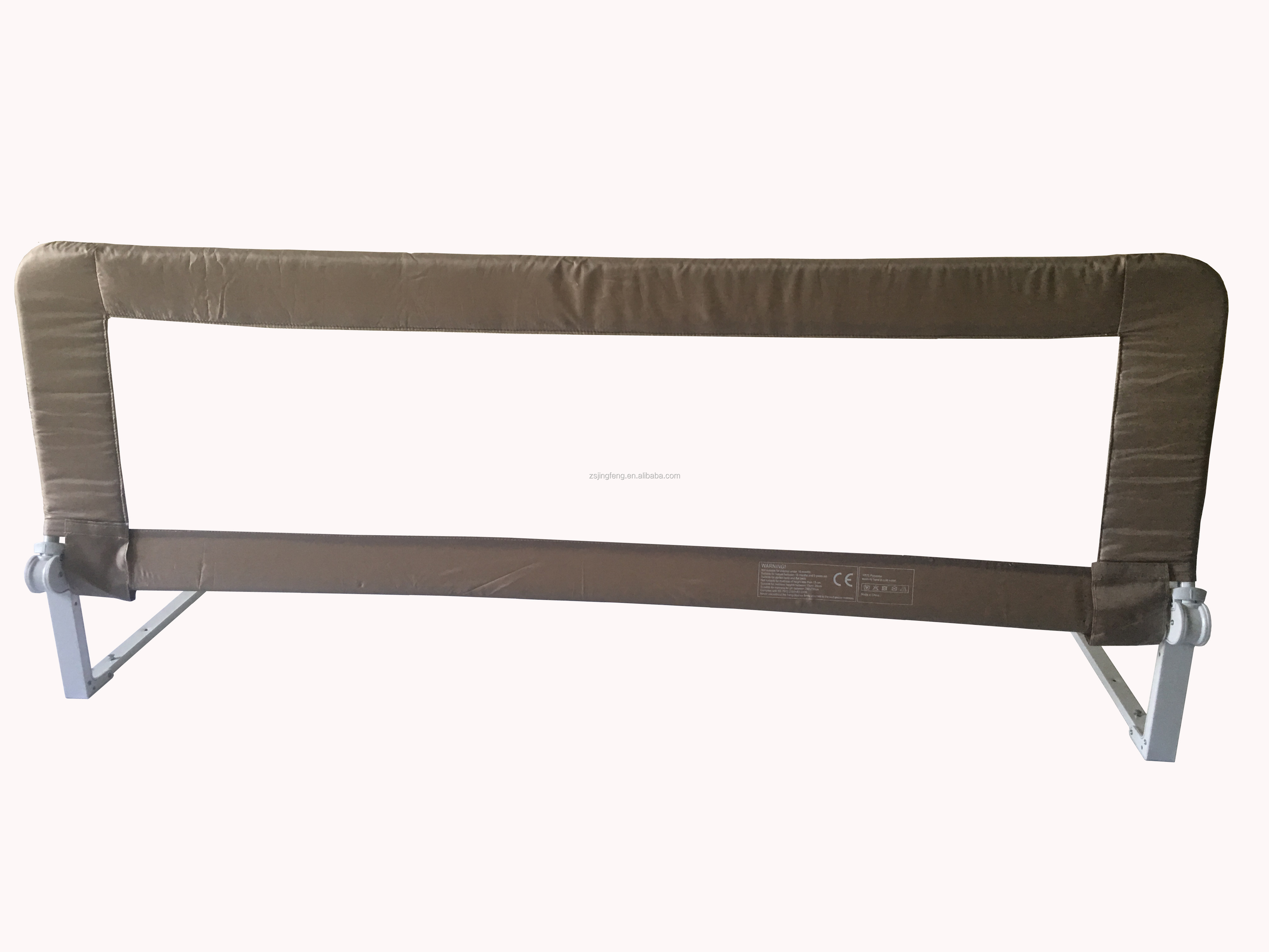 Passed BS7972 Anti-clip Hand Function Metal Safety Foldable Bed Guard Rail
