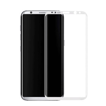 One Dollar Sample!! Tempered Glass 3D Full Covered Screen Protector For Galaxy S8. High Quality Factory Wholesale Price.